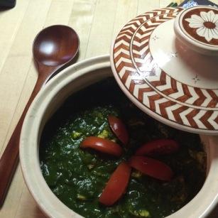 Recipe: Palak Paneer
